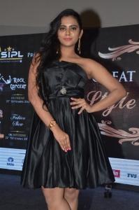 Actress Manasa Himavarsha Pics at The Great Hyderabad Lifestyle Expo 2016