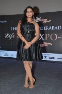 Manasa Himavarsha New Pics at The Great Hyderabad Lifestyle Expo 2016