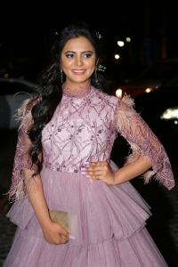Actress Manasa Latest Photos @ 65th Jio Filmfare Awards (South) 2018