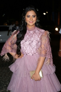 Actress Manasa Latest Photos @ 65th Jio Filmfare Awards South 2018