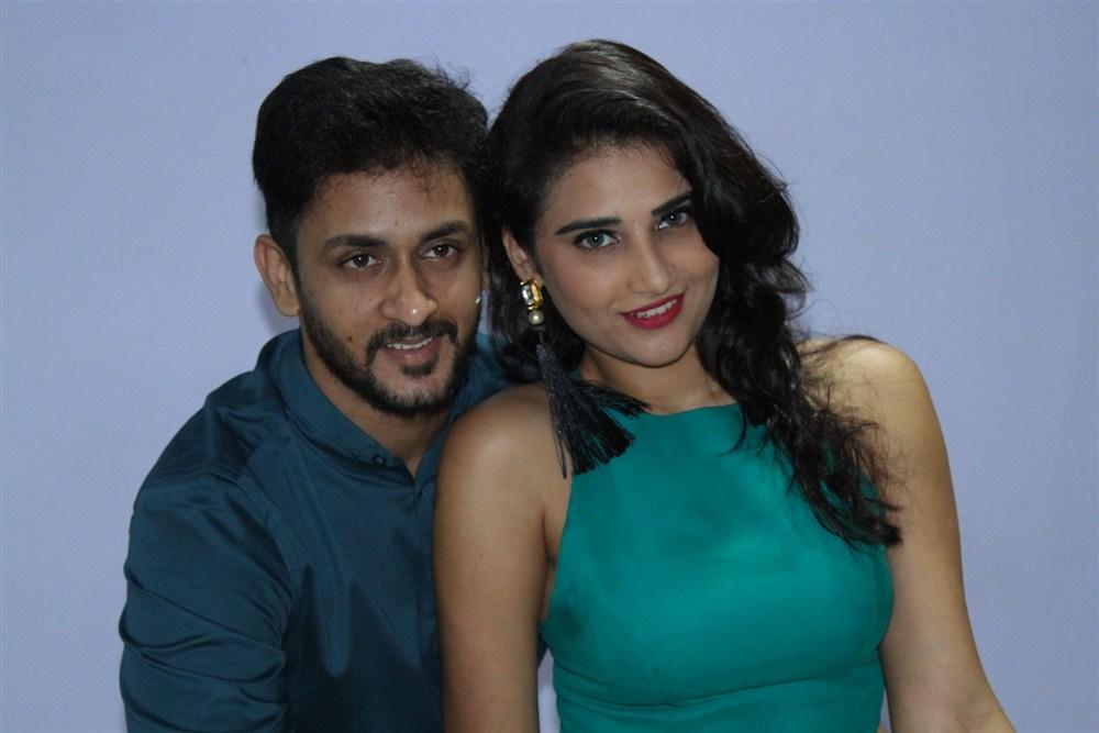 anoj Nandam, Priya Singh @ Manasainodu Movie Audio Launch Stills