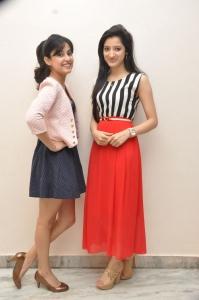 Richa Panai, Disha Pandey @ Manasunu Maaya Seyake Movie Press Meet Stills