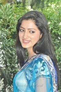 Actress Richa Panai at Manadhil Maayam Seidhaai Movie Launch Stills