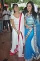 Disha Pandey, Richa Panai at Manadhil Maayam Seidhaai Movie Launch Stills