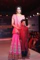 Manchu Lakshmi Prasanna Ramp Walk @ Teach for Change Fashion Show