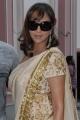 Manchu Laxmi Prasanna Saree Photos at Gundello Godari Success Meet