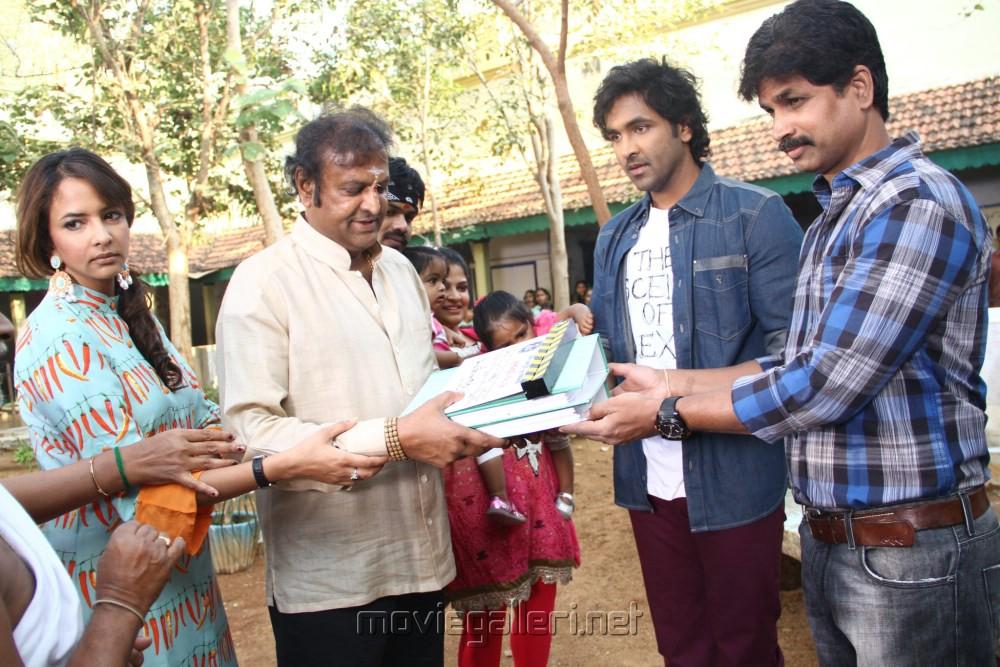 Manchu Vishnu 24 frames factory Movie Launch Photos