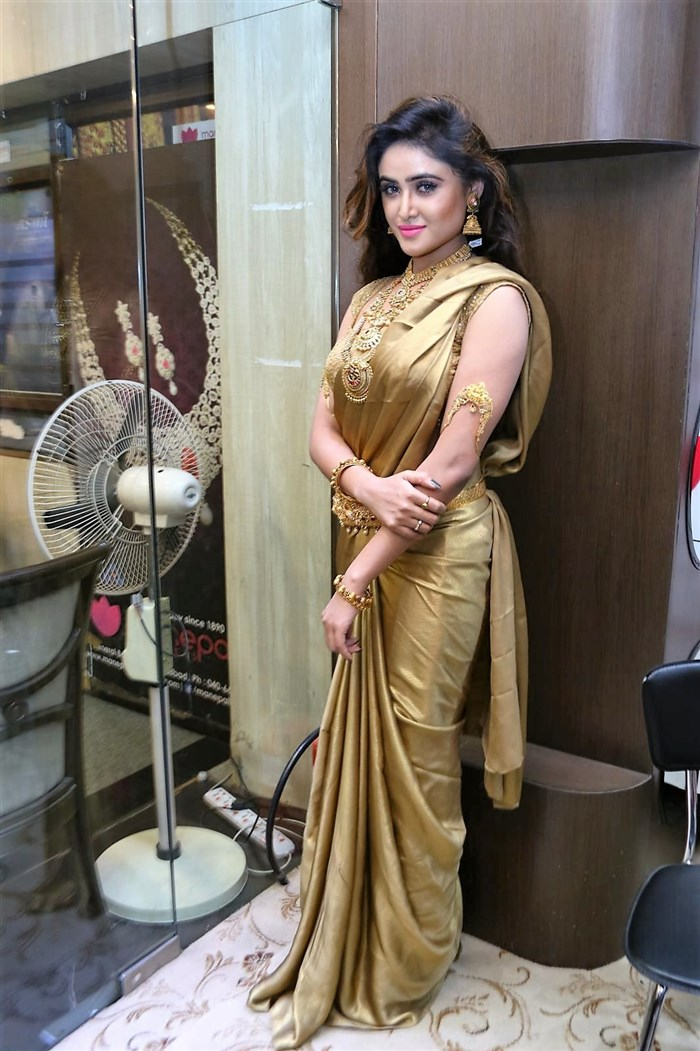 Sony Charishta @ Manepally Jewellers Exclusive Dhanteras Collection 2016 Launch Stills