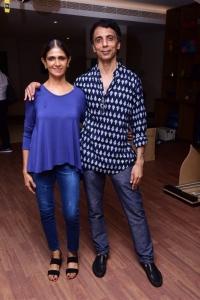 Nita & Santosh(Founders of the gym) @ Leap Wellness Studio Indoor Golf @ Park Hyatt Chennai
