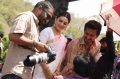 Ahmed, Udhayanidhi, Hansika @ Manithan Movie On Location Photos
