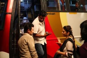 Udhayanidhi, Ahmed, Hansika @ Manithan Movie On Location Photos