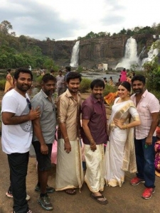 Manithan Movie On Location Photos