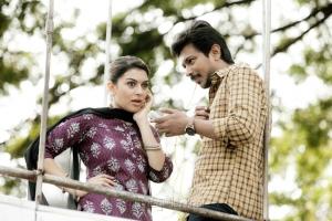 Hansika Motwani, Udhayanidhi Stalin in Manithan Movie Stills