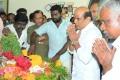 Vagai Chandrasekar at Actor Manivannan Passed Away Stills