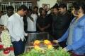 Cheran at Manivannan Passed Away Stills
