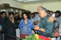 Radha Ravi at Actor Manivannan Passed Away Stills