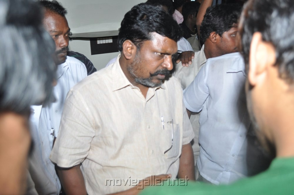 Picture 492714 | Thol.Thirumavalavan at Director Manivannan Passed ... Nassar Actor Body