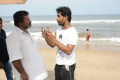 Rajkiran, Naveen Raghavan @ Manja Pai Movie Shooting Spot Photos