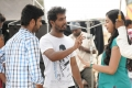 Vimal, Naveen Raghavan, Lakshmi Menon @ Manja Pai Movie Shooting Spot Photos