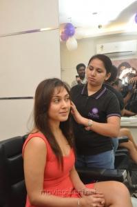 Manjari Launches Naturals Franchise Salon at Vijayawada Stills