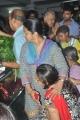 Actress Radhika @ Manjula Vijayakumar Passes Away Stills
