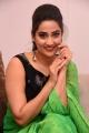 Anchor Manjusha in Green Saree Photos