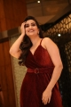 Anchor Manjusha in Red Dress Photos