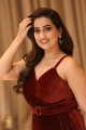 Telugu Anchor Manjusha Red Dress Photos