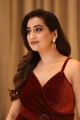 Anchor Manjusha in Red Dress Photos