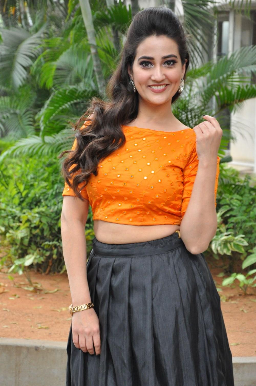 Anchor Manjusha New Photos @ Hello Movie Press Meet