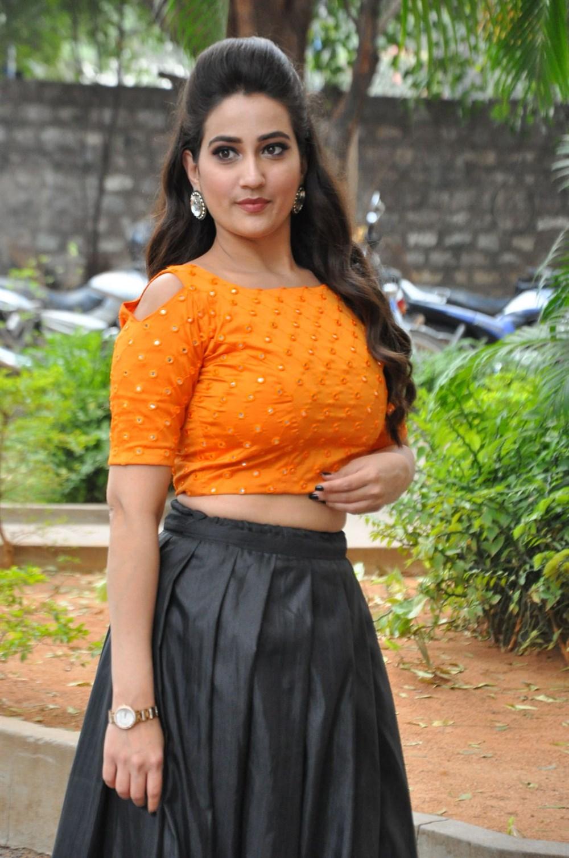 Telugu Anchor Manjusha New Photos @ Hello Press Meet