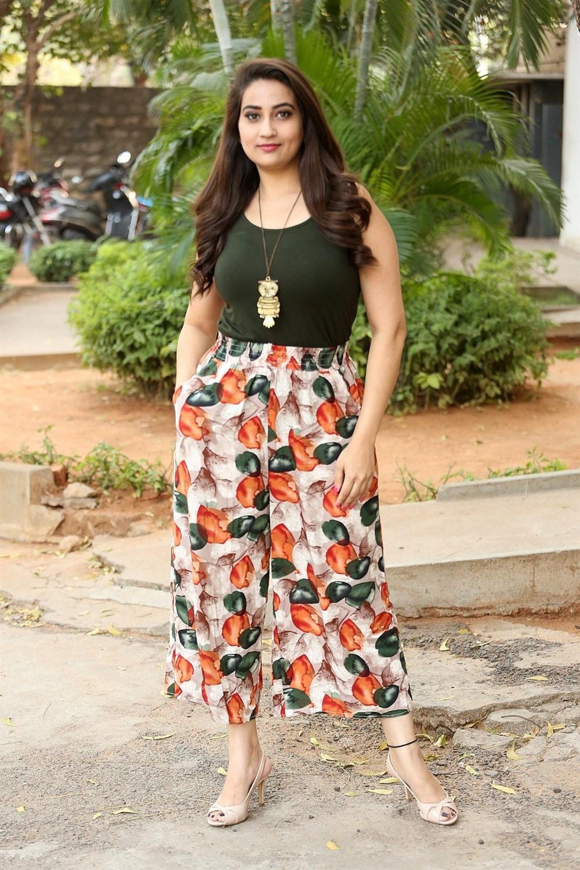 Anchor Manjusha New Photos @ Sharaba Success Meet