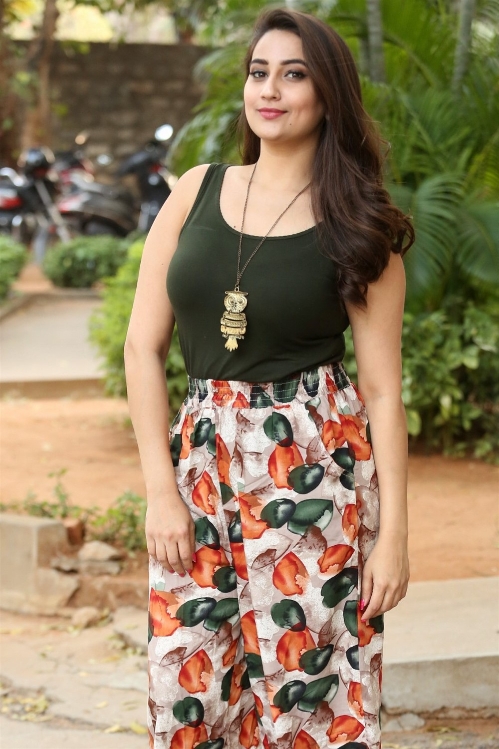 Anchor Manjusha Photos @ Sharaba Movie Success Meet