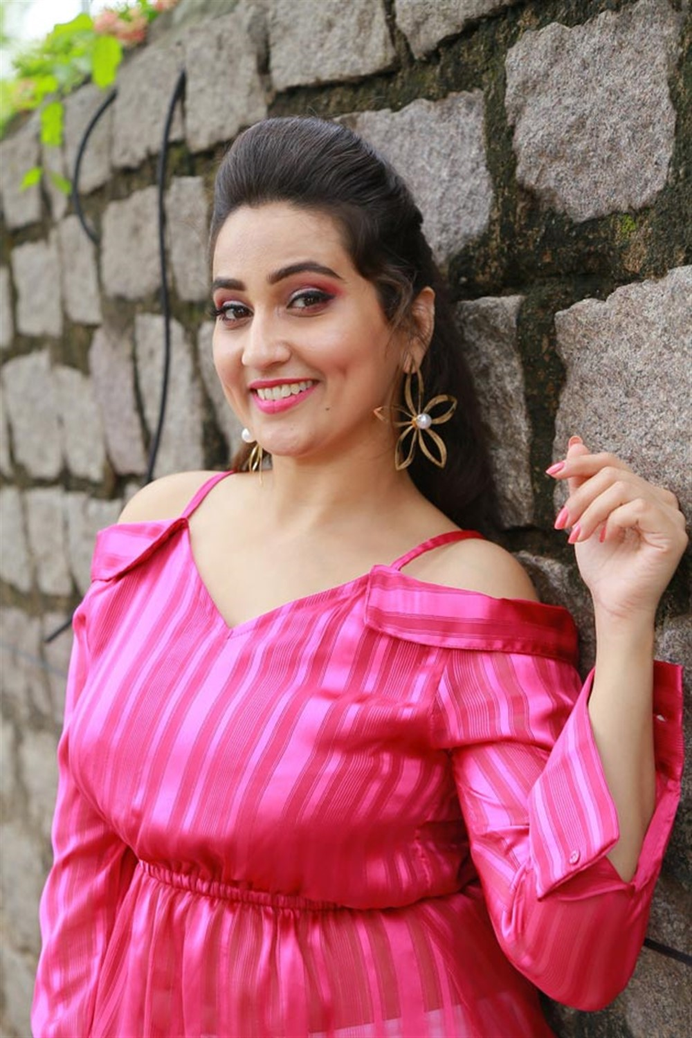 Anchor Manjusha Pictures @ First Rank Raju Press Meet