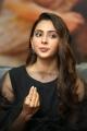 Heroine Rakul Preet Singh @ Manmadhudu 2 Interview Photos