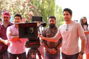 Rahul Ravindran, M Sukumar, Naga Chaitanya @ Manmadhudu 2 Movie Opening Stills