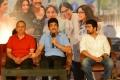 P Kiran, Nagarjuna, Rahul Ravindran @ Manmadhudu 2 Movie Press Meet Stills