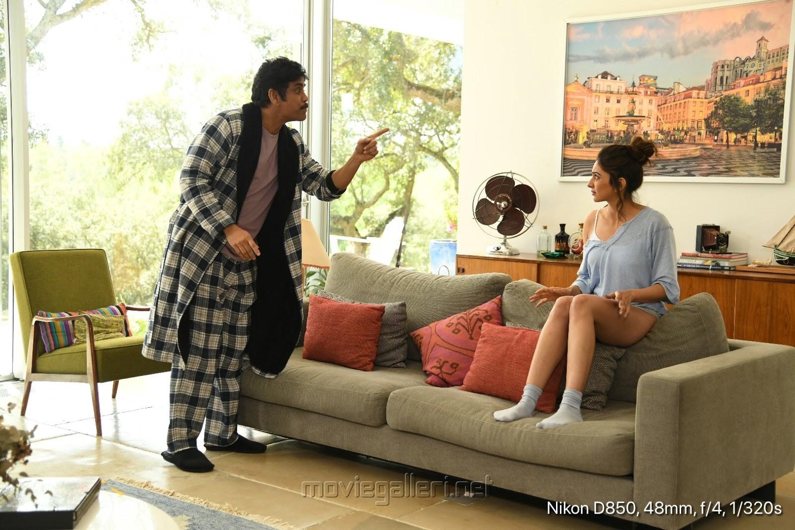 Nagarjuna, Rakul Preet Singh in Manmadhudu 2 Movie Stills HD