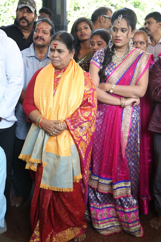 Actress Anitha @ Mannar and Company Movie Pooja Stills