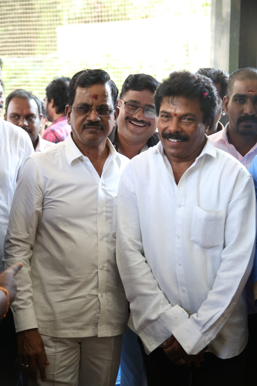 Jaguar Thangam @ Mannar and Company Movie Pooja Stills