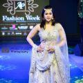 Mannara Chopra Looks Dreamy In Ethnic Wear As A Show Stopper For Ap fashion week