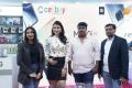 Xiaomi Mi 10i New Mobile Launch in Hyderabad by Mannara Chopra at Cellbay Store, Gachibowli