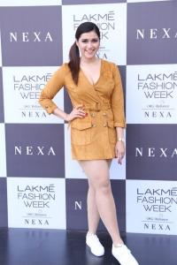 Actress Mannara Chopra Photos @ Lakme Fashion Week 2019
