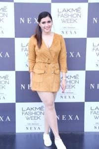 Actress Mannara Chopra @ Lakme Fashion Week 2019 Photos