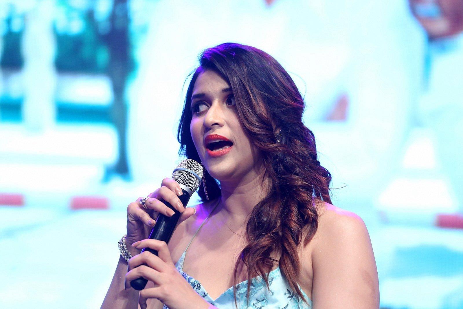 Actress Mannara Chopra Cute Photos @ Sita Pre Release Function