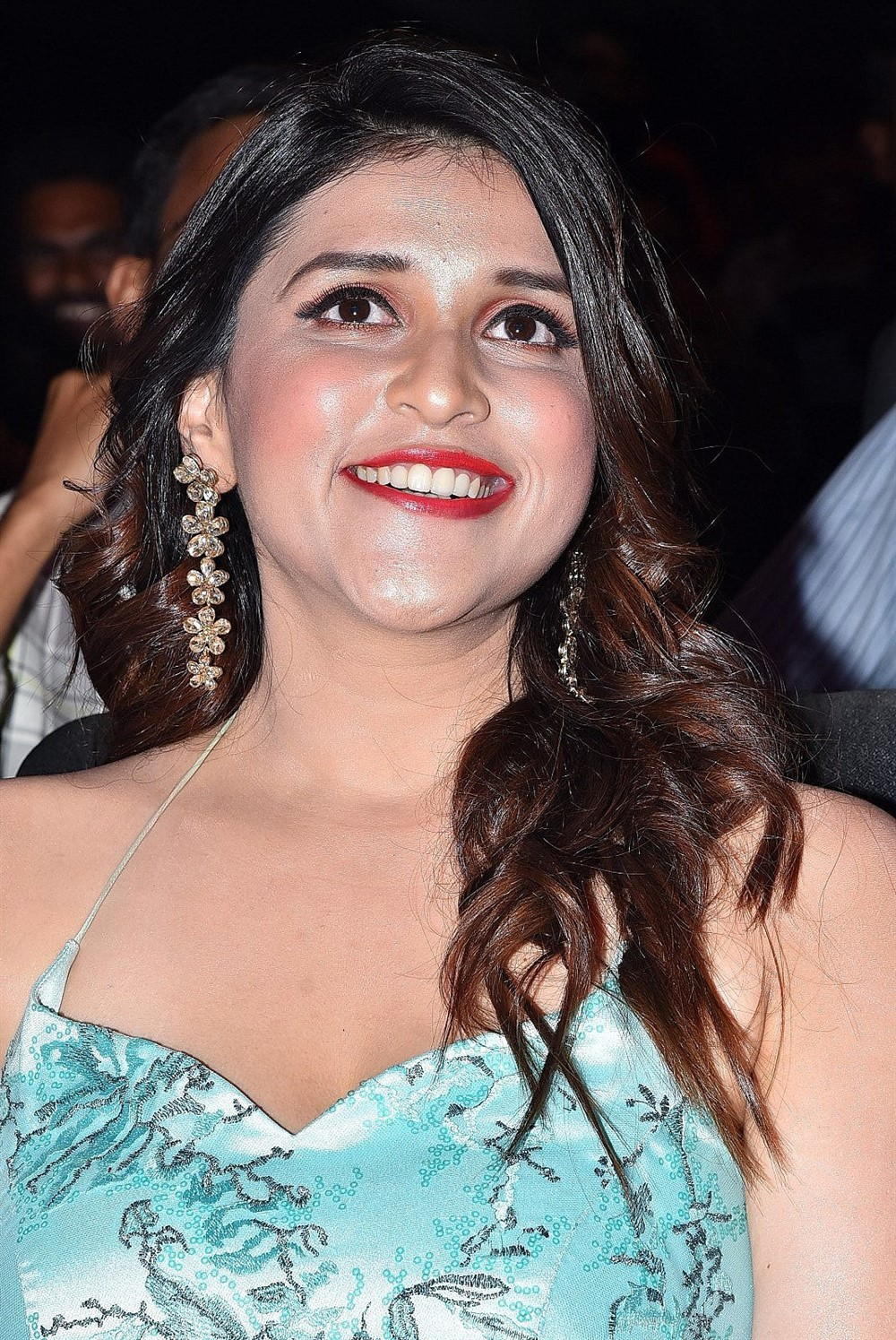 Actress Mannara Chopra Cute Photos @ Sita Pre Release Function