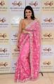 Actress Mannara Chopra New Saree Stills @ Sri Krishna Silks Special Wedding Collection Launch