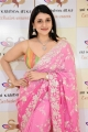 Actress Mannara Chopra Stills @ Sri Krishna Silks Special Wedding Collection Launch