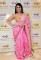 Actress Mannara Chopra Saree Stills @ Sri Krishna Silks Wedding Collection Launch