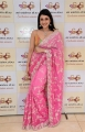Actress Mannara Chopra New Saree Stills @ Sri Krishna Silks Special Wedding Collection Launch